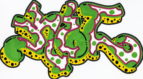 KET - Untitled Drawing#5 (Marker)