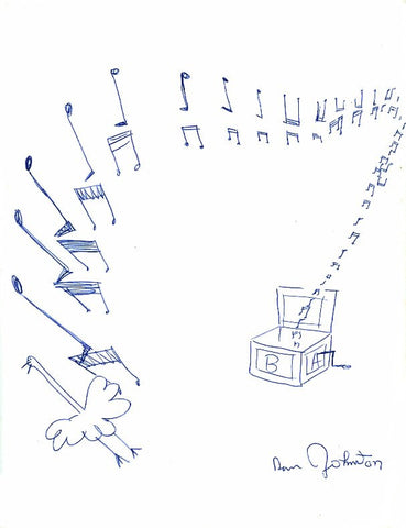 "DANIEL JOHNSTON -  ""Music Box"""