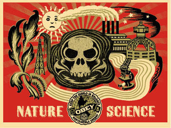 "SHEPARD FAIREY - ""Obey Nature Science"" Green"