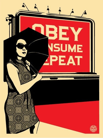 "SHEPARD FAIREY - ""Billboard Consume"""