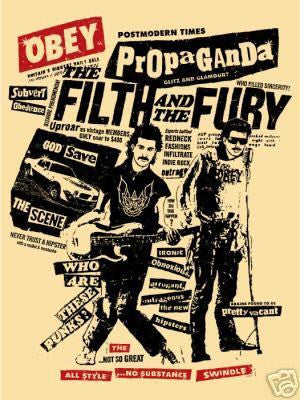 "SHEPARD FAIREY - ""Filth & Fury"""