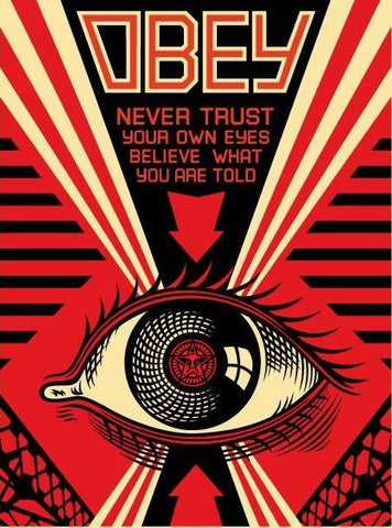 "SHEPARD FAIREY - ""EYE"""