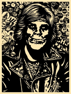 "SHEPARD FAIREY - ""Friend Rocker"" Blk"
