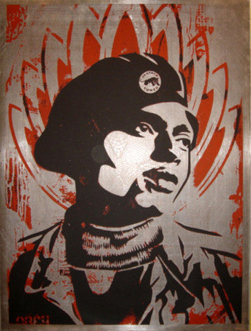 SHEPARD FAIREY - Black Panther