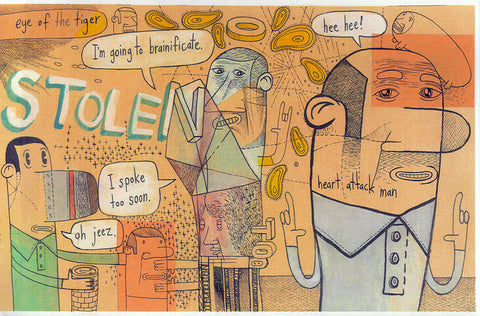 "PETER THOMPSON- ""Stolen"" #2"
