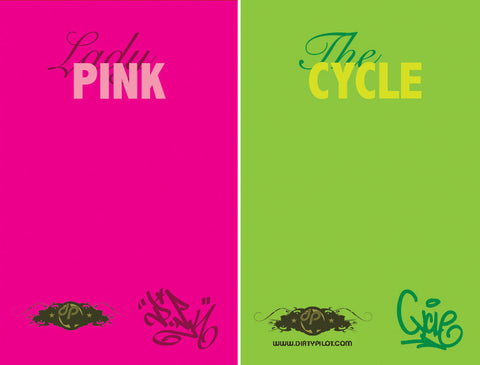 LADY PINK/CYCLE - Full Color Zine