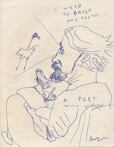 "DANIEL JOHNSTON -  ""A Poet With Vision"""