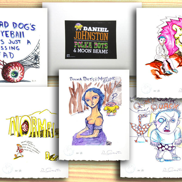 DANIEL JOHNSTON - Print Portfolio