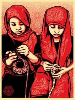 "SHEPARD FAIREY - ""Close Knit"""