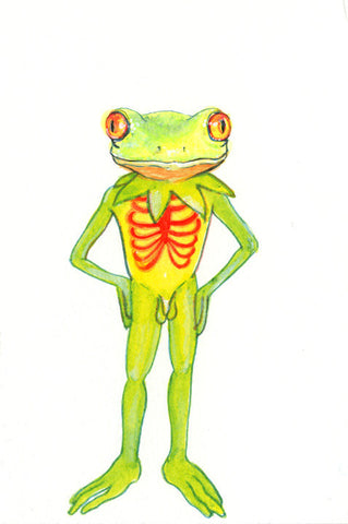 MATT FURIE/AIYANA UDESEN - Red -Eyed Tree Frog