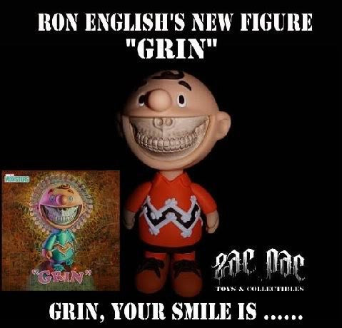 "RON ENGLISH - ""Grin"""