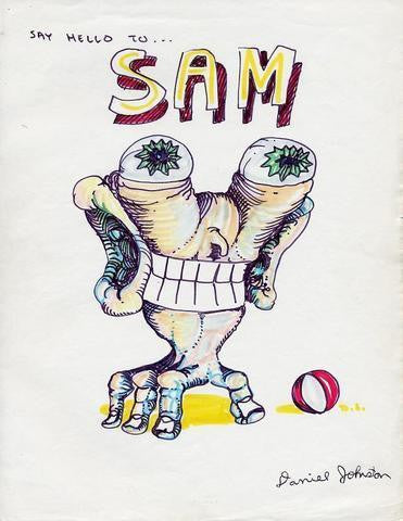 "DANIEL JOHNSTON - ""Sam"""