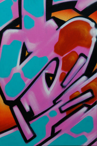 GRAFFITI ARTIST SEEN - Untitled #2 Painting