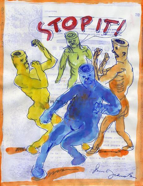 "DANIEL JOHNSTON -  ""Stop It"""