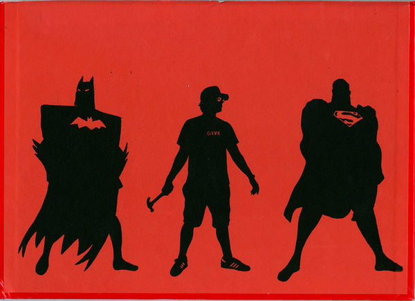 "ALBERT REYES -  ""Superheroes"" (Red)"