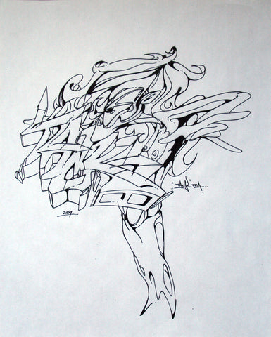 TACK FBA - Untitled Drawing#1 (INK)