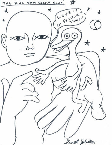 "DANIEL JOHNSTON -  ""The Ring"" (from the Handbook)"