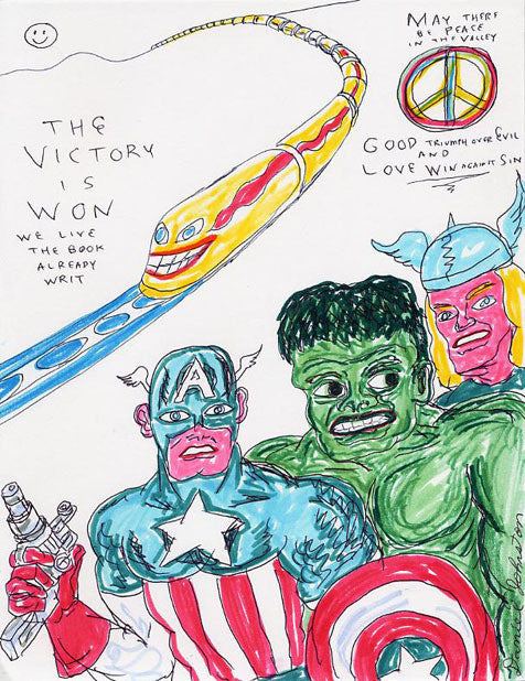 "DANIEL JOHNSTON -  ""Victory is Won"""