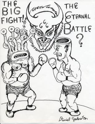 DANIEL JOHNSTON -  The Eternal Battle