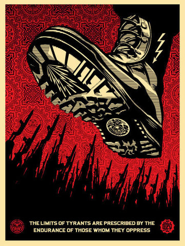 SHEPARD FAIREY - Tyrant Boot