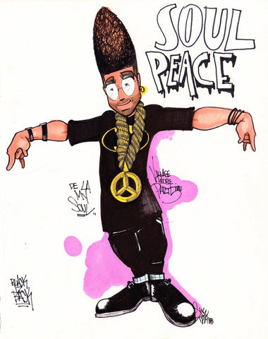 "SYE - ""Village 5"" Black Book Drawing"