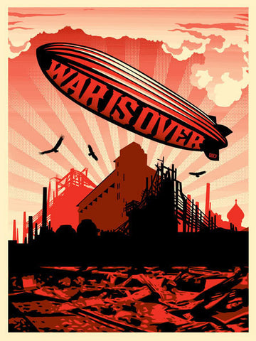 "SHEPARD FAIREY - ""War is Over"""