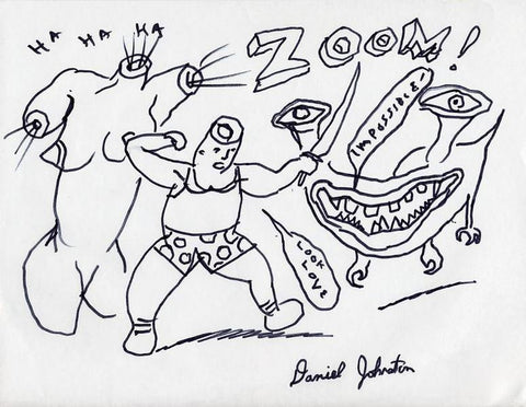 "DANIEL JOHNSTON -  ""Zoom"""