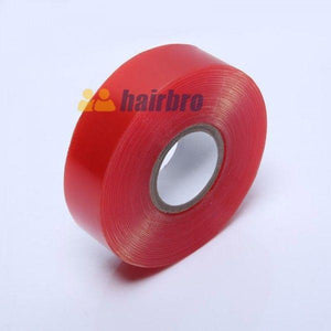 Red 12 Yard 3/4 Inch Double Side Lace Front Support Tape Roll For Hair Systems