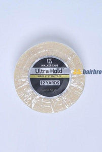 "Walker Ultra White Double Side Hold 1""X12 Yard Tape Roll For Hair Systems"