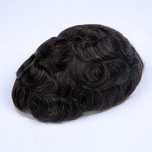 Cargar imagen en el visor de la galería, Stock French Lace Human Hair Breathable Hair Pieces For Man