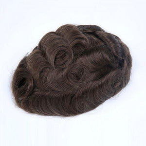 0.10mm Super Thin Hair System Transparent Skin Base All Over Toupee