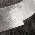 Cargar imagen en el visor de la galería, French Lace Center with Poly around Stock Hair Replacement System For Men