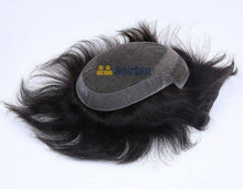 Cargar imagen en el visor de la galería, Natural Looking French Lace Front with Poly Back Stock Hair Replacement System