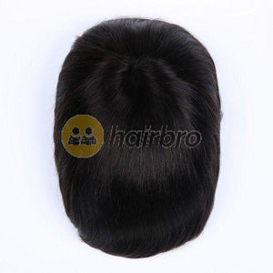 Natural Looking French Lace Front with Poly Back Stock Hair Replacement System