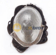 Cargar imagen en el visor de la galería, French Lace Front with Poly Back Hair Replacement System For Men
