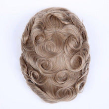 Cargar imagen en el visor de la galería, Full Swiss Lace Human Hair Breathable Stock Hair Pieces For Man