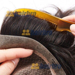 Cargar imagen en el visor de la galería, The Injection Lace Center with Poly Side and Back Hair Replacement System