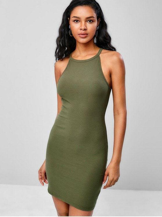 Cami Ribbed Bodycon Dress