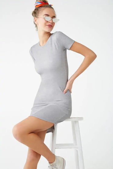 Bodycon T-Shirt Dress