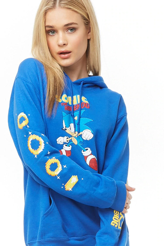 Sonic The Hedgehog Graphic Hoodie