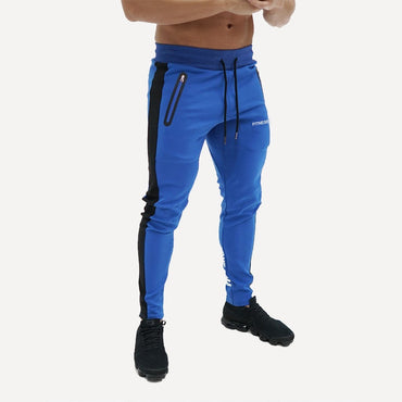 Fitness Sportswear Tracksuit Bottoms Skinny Sweatpants Trousers Black Gyms Joggers Track Pants