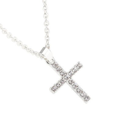 Exquisite Bible Jesus Cross Pendant Necklace