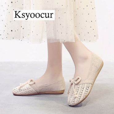 Casual W Comfortable Round Toe Flat Shoes