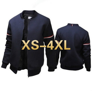 Casual Slim Windbreaker Outwear Zipper jacket and coat