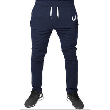 Simple Stylish Casual Sport Gym Slim Fit Trousers Running Joggers Gym Sweat Long Pants