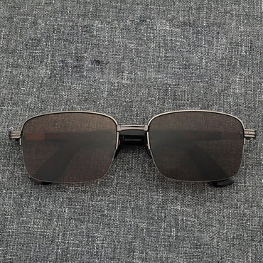150mm Brown clear Stone Sun Glasses