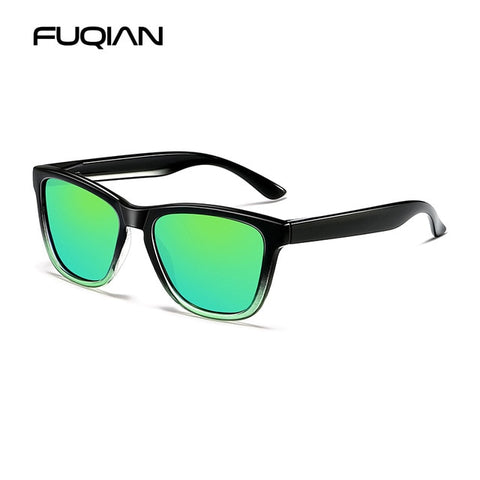 Classic Square Polarized Sunglasses Fashion Driving Sun Glasses
