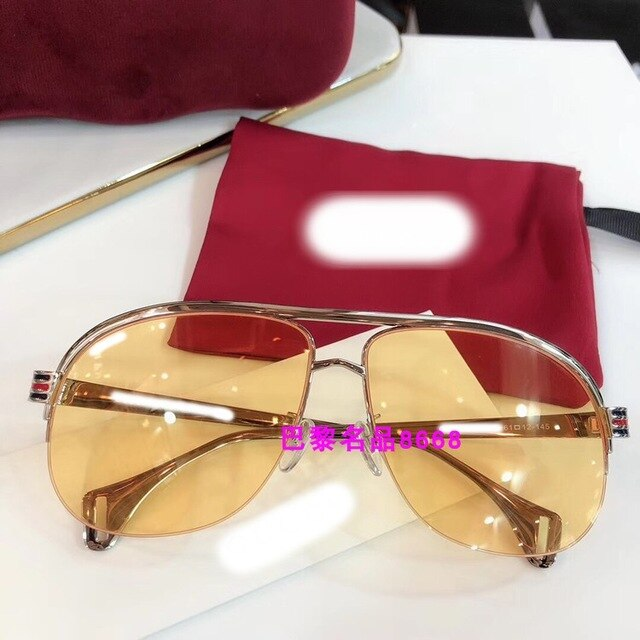 luxury Runway sunglasses men brand designer sun glasses