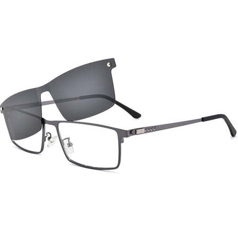 Ultralight Polarized Clip on Eyewear HD For Driving UV400 Protection Sun Glasses