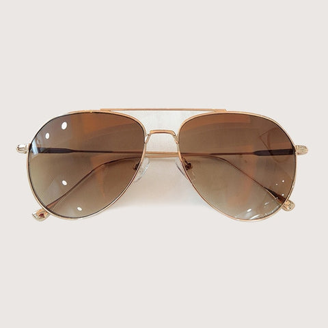 Retro Pilot Sunglasses Fashion Sunglasses